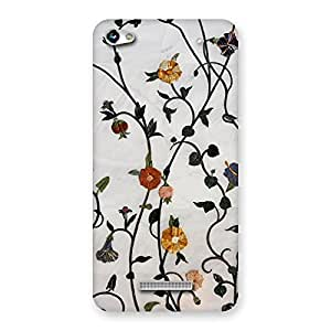 NEO WORLD Remarkable Flowa Back Case Cover for Micromax Hue 2
