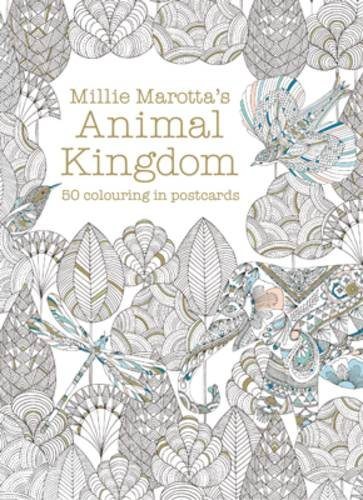 Millie Marotta Animal Kingdom Postcard Box por Millie Marotta