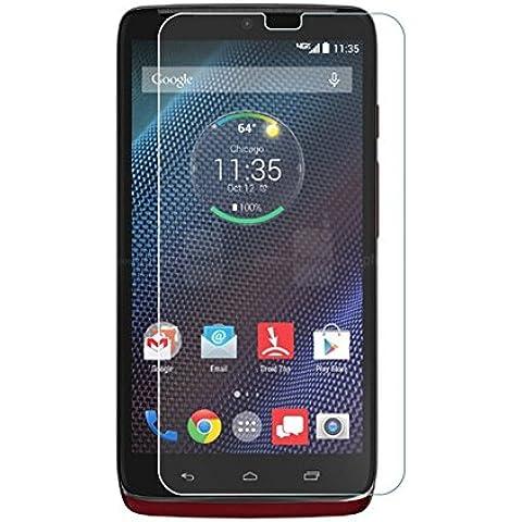 Protector de pantalla de vidrio templado Ultra® Premium 0,4 ml para Motorola Droid Turbo Moto móviles teléfonos 9 H Oleophobic