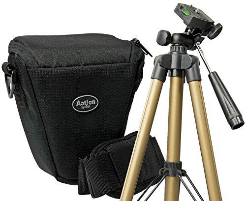 Foto Kamera Tasche COLT VANTAGE T Set mit Reise Stativ für Canon EOS 1300D 1200D 760D 750D 700D 100D 80D