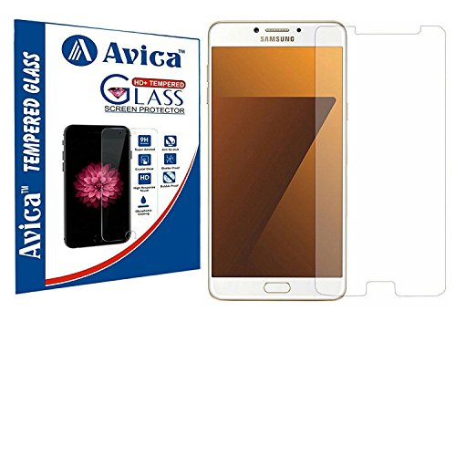 "AVICAâ""¢ 0.3mm HD Premium Tempered Glass Screen Protector For Samsung Galaxy C7 Pro [2017]"