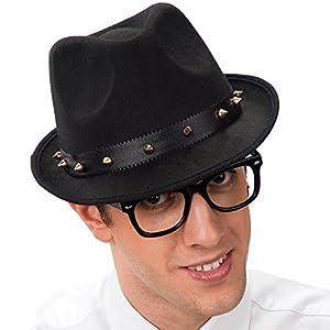 Carnival Toys - Sombrero para Disfraz de Adulto Gánster (5715)