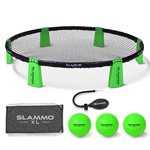 GoSports Slammo XL Spielset - riesiges 121,9 cm Netz - ideal für Anfänger, jüngere Spieler oder Gruppenspiele