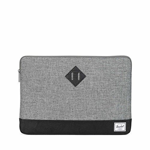 Preisvergleich Produktbild Herschel Heritage Sleeve for 15in Macbook Pro Tablet Case One Size Raven Crosshatch Black