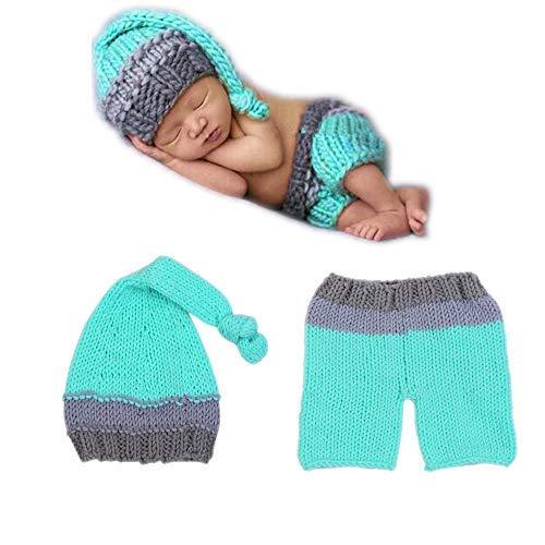 Neugeborenes Baby-Fotographie-Stütze, Säuglingskostüm 0-6 Monate Foto-Ausstattung, Kleinkind-Fotoshoot Sätze (Panda Schwanz Kostüm)