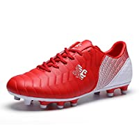 Unisex Kids Football Boots FG/TF Teenager Soccer Shoes Athletics Training Shoes Outdoor Sports Sneakers
