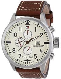 Tommy Hilfiger Herren-Armbanduhr Cool Sport Analog Quarz Leder 1790684