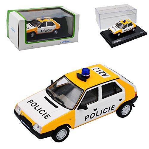 Gebraucht, Abrex Skoda Favorit 136L 5-Türer Polizei Policie A212 gebraucht kaufen  Wird an jeden Ort in Deutschland