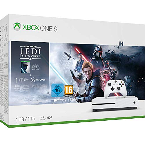 Xbox One S 1TB Console - Star Wars Jedi: Fallen Order Bundle (Xbox One)