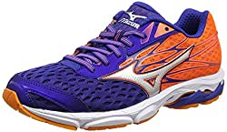 Mizuno Men Wave Catalyst 2 Running Shoes, Blue (Mazarine Bluesilverclownfish), 9 Uk 43 Eu