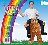 CUTE TEDDY BEAR CARRY ME MASCOT FANCY DRESS COSTUME -