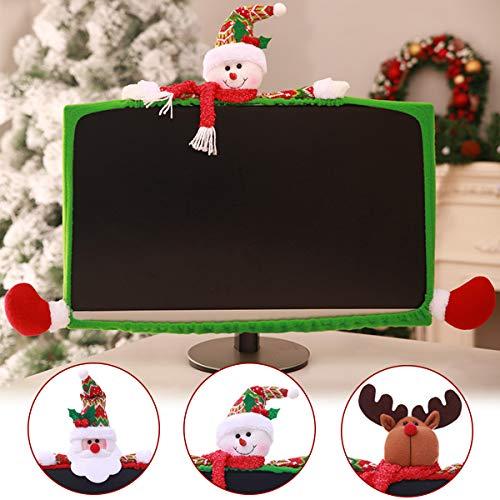 Global Brands Online 3 Stil Weihnachten Computer Laptop LCD Bildschirm Monitor Dekor Abdeckung Anzug 19-27