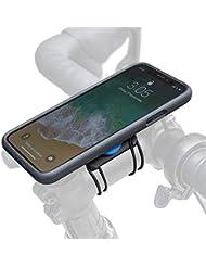 Quad Lock Bike Kit de iPhone X Smartphone Soporte, Negro