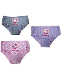 Set 3 Slip Luna Park Hello Kitty Multicolore Vêtements pour Filles PS 18817 a5edf7d98ff