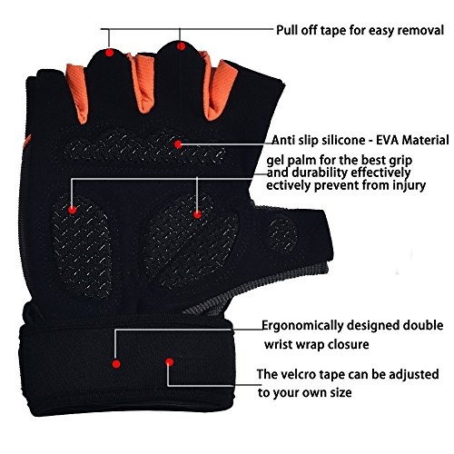 Padded Grip Ultralight – Weight Lifting Gloves