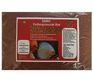 MIBO Hauptfutter Granulat Rot 500ml/250g Cichliden Bits für alle Zierfische...