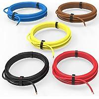 AUPROTEC® Fahrzeugleitung 1,50 mm² Set 5 Farben à 10m FLRY-B als Ring
