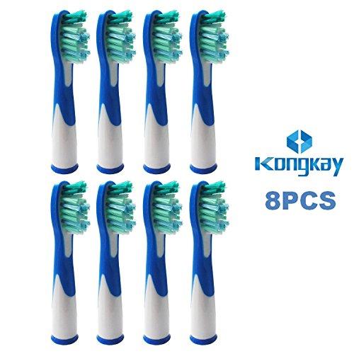 8 x ERSATZ Zahnbürste Kompatibel für Braun Oral B Sonic (2 x 4PK), kompatibel mit Oral-B Sonic, Sonic VITALITY und Sonic Complete', am selben Tag versand'