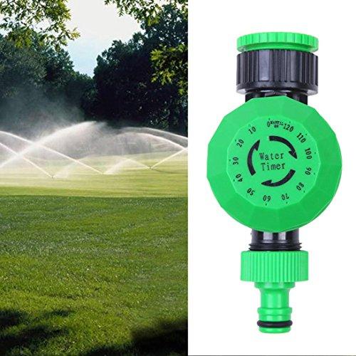 Wokee Automatische und einfach Urlaubs-Bewässerungsanlage,Automatische mechanische Wasser Timer Gartenschlauch Sprinkler Bewässerungssteuerung - Mechanische Wasser Timer