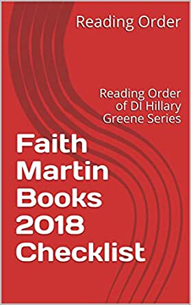 Faith Martin Books 2018 Checklist Reading Order Of Di