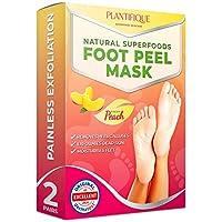 Calcetines hidratantes para pelar los callos y durezas de pies - 2 pares - Elimina piel muerta y seca - Baby feet peel en 7 días, calcetines exfoliantes de pies - Foot Peeling Mask - Callos pies