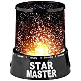 Coolkart Star Master Projector With Usb Wire Turn Any Room Into A Starry Sky Colorful Romantic LED Cosmos Star Master Sky Starry Night Projector Bed Light Lamp
