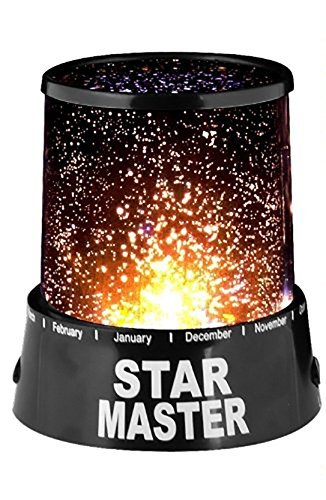 Styleys Star Master Projector With Usb Wire Turn Any Room Into A Starry Sky Colorful Romantic LED Cosmos Star Master Sky Starry Night Projector Bed Light Lamp