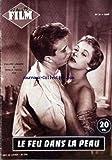 AMOR FILM [No 54] du 02/03/1955 - LE FEU DANS LA PEAU AVEC PH. LEMAIRE ET GISELE PASCAL - JILL ADAMS