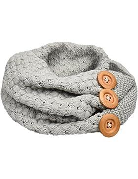 Heekpek® Bufanda Mujere Invierno Cálido Cable Knit Cuello de la Capucha del Mantón de la Bufanda