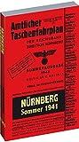 Amtlicher Taschenfahrplan NÜRNBERG - Sommer 1941 - ohne