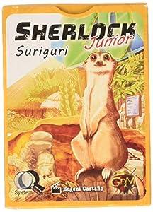 GM Games- Sherlock: Suriguri Cat Juego de Mesa de investigación, Color Naranja (GDM Games GDM2080)
