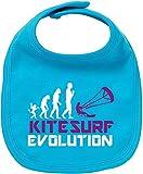 EZYshirt Kitesurf Evolution Baby Lätzchen Halstuch