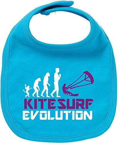 EZYshirt® Kitesurf Evolution Baby Lätzchen Halstuch (Flex Body Bar)