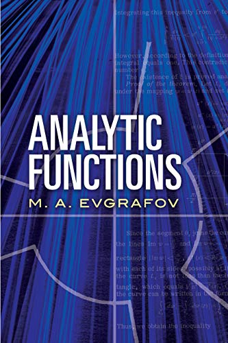 Analytic Functions (Dover Books on Mathematics) (English Edition)