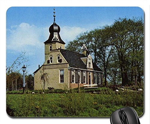 allinga-state-frisian-farm-house-mouse-pad-tapis-de-souris-houses-mouse-pad