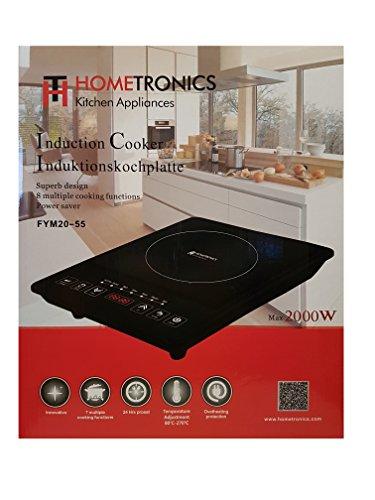 HOME TRONICS Induction Cooker Induktionskochplatte max….   07426844264928