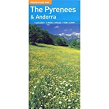 The Rough Guide Map Pyrenees and Andorra (Rough Guide Map: Pyrenees & Andorra)