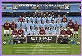 Fußball Poster und Kunststoff-Rahmen - Manchester City,