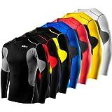Men's Boys TCA SuperThermal Compression Base Layer Top Long Sleeve Thermal Under Shirt