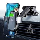 Handyhalter fürs Auto Wireless Charger Auto Handyhalterung Auto Kfz Handyhalterung 10W Qi Ladestation Auto...