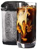 Maxi-Matic Patentierter Kaffee-/Getränkekühler in einer Minute, wiederverwendbar für Eistee, Wein, Spirituosen, Alcoho HC2 12.5 oz schwarz
