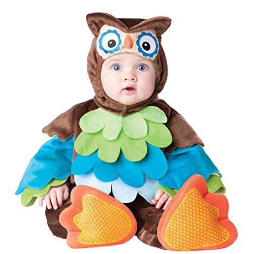 Owl Kostüm Kleinkind - YYF Baby Kleinkinder Animal Kostüm Halloween Party Jumpsuit Winter Strampler Bekleidung