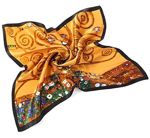 Prettystern Foulard Di Seta Donna Di Gustav Klimt Bandana Art Nouveau  Stampa Artistica P813 Albero della e5b08c359d62