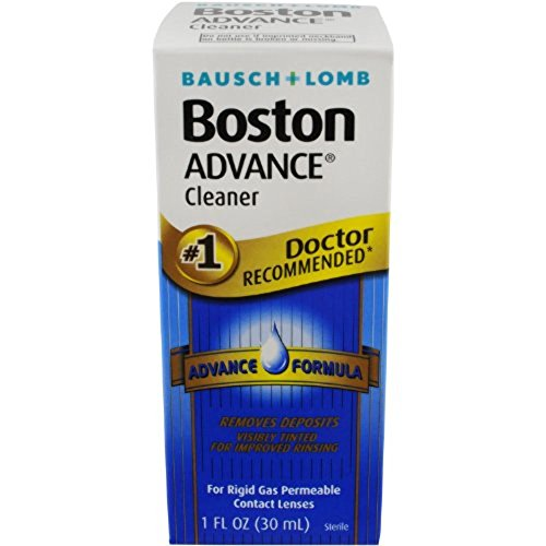 Boston Cleaner For Rigid Gas Permeable Contact Lenses, Advance Formula, 30ml Bottles (Pack Of 2)