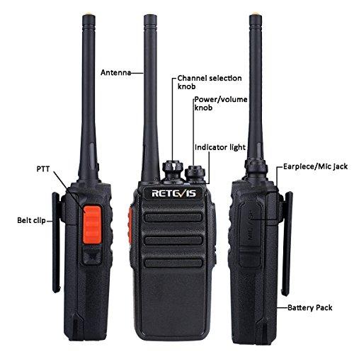 Zoom IMG-2 retevis rt24 walkie talkie pmr446