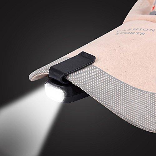 Gorgebuy 3 LED Lámpara Aire Libre Casquette Gorra