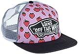 Vans Damen Baseball Cap, Beach Girl Trucker Hat, GR. One Size (Herstellergröße: One Size), Rosa (Strawberries Pastel Lavender/True White)