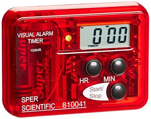 Sper Scientific compacto alarma visual sonora, 1