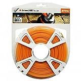 Stihl Nylon pour rouleaux de fil rond 2,4mm x 87M, 1pièce, 00009302340