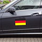 Deutschlandfahne Flagge Magnetfolie Autofahne 300x200 mm
